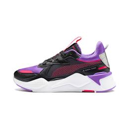 RS-X Metallic Women's Trainers, Puma Black-Purple Glimmer, small