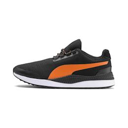 Pacer Next FS Knit 2.0 Trainers, Puma Black-Jaffa Orange, small