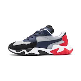 Zapatos deportivos Storm Origin para JR, Puma Black-High Rise, pequeño