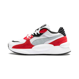 RS 9.8 Space Youth Trainers, Puma White-High Risk Red, small