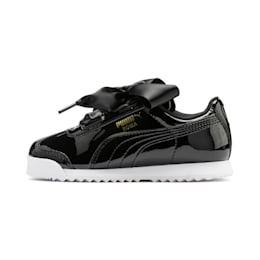 Roma Heart Patent Kids' Trainers