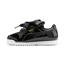 Roma Heart Patent Kids Sneaker