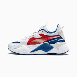 Basket RS-X Hard Drive Youth, Puma White-High Risk Red, small
