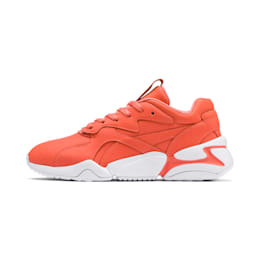 PUMA x PANTONE Nova Women's Trainers, Living Coral-Puma White, small-SEA