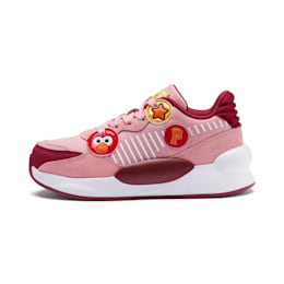 Sesame Street 50 RS 9.8 Kids' Trainers, Bridal Rose-Rhubarb, small