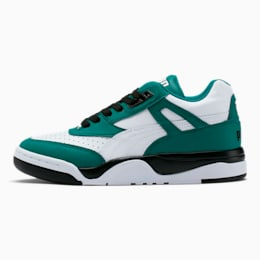 Palace Guard Colorblock Women's Sneakers, Teal Green-Puma White, small