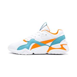 Nova Damen Sneaker, Puma White-Milky Blue, small
