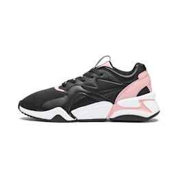 Nova Damen Sneaker, Puma Black-Bridal Rose, small