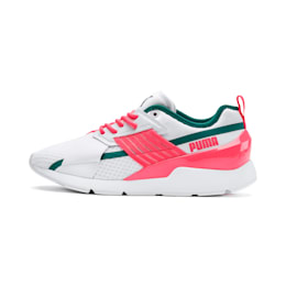 Muse X-2 Women's Trainers, Puma White-Pink Alert, small-SEA