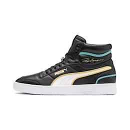 Ralph Sampson Mid Hoops Sneaker, Puma Blk-Puma Wht-Puma Wht, small