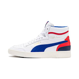 Ralph Sampson Mid Shoes, Wht-Surf The Web-Marshmallow, small-IND