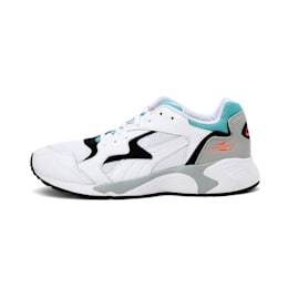 Prevail Classic Shoes, Puma White-Blue Turquoise, small-IND