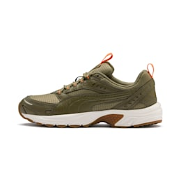 Axis Training Shoes, B Olive-Orange-Slvr-WWht-Gum, small-IND