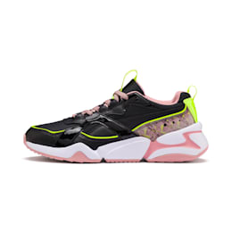 Nova 2 Shift Women's Trainers, Puma Black-Bridal Rose, small