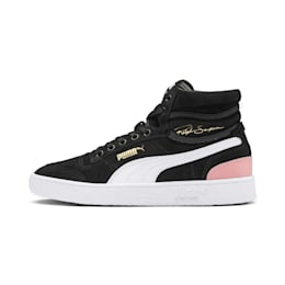 Ralph Sampson Mid Suede Women's Sneakers, Puma Black-Bridal Rose, small