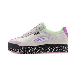 Roma Amor Dimension Women's Sneakers, Agate Gray-Smoky Grape, small