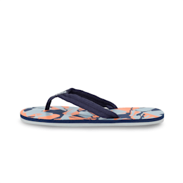 Epic Toss GU IDP Flip flop, Peacoat-Quarry-Jaffa Orange, small-IND
