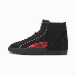Basket PUMA x CHARLOTTE OLYMPIA Love pour femme, Puma Black-High Risk Red, small