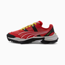 Nitefox Highway Running Shoes, High Risk Red-Puma Black, small-IND
