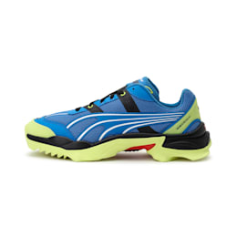 Nitefox Highway Running Shoes, Palace Blue-Fluo Yellow, small-IND