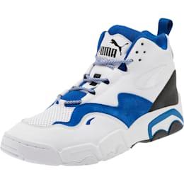 Source Mid Retro 2 Men's Sneakers, P White-Surf The Web-Puma Bl, small