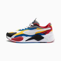 RS-X3 Puzzle Trainers, PWhite-Spectra Yellow-PBlack, small