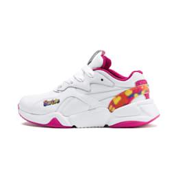 PUMA x BARBIE Nova Flash Little Kids' Shoes, Puma White-CABARET, small