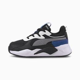 RS-X Collegiate-sneakers til børn, Puma Black-Bright Cobalt, small