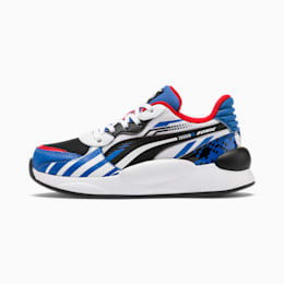 PUMA x SONIC RS 9.8 Kids' Trainers, Palace Blue-Puma White, small
