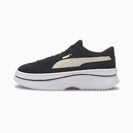 Damskie buty sportowe Deva Suede, Puma Black-Marshmallow, small