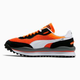 Style Rider OG Men's Sneakers, Vibrant Orange-Puma Black, small