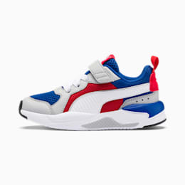 X-Ray AC-sneakers til børn, Royal-High Rise-Wht-Red-Blk, small