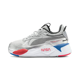 キッズ PUMA x SPACE AGENCY RS-X スニーカー PS 17CM-21CM, Puma Silver-Gray Violet, small-JPN