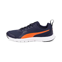 Whisk IDP Men's Running Shoes, Peacoat-Vibrant Orange, small-IND