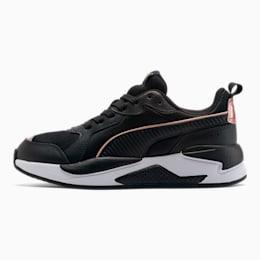 X-RAY Metallic Shine Women's Sneakers, Puma Black-Black-Rose Gold, small