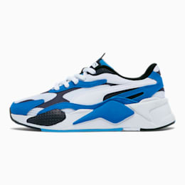RS-X³ Super Sneakers JR, P.White-P. White-Palace Blue, small