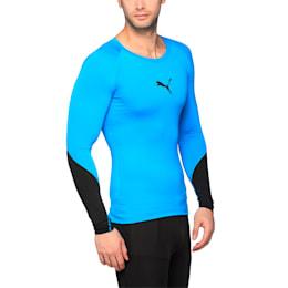 Training Lite Long Sleeve, BLUE DANUBE-Puma Black, small-IND