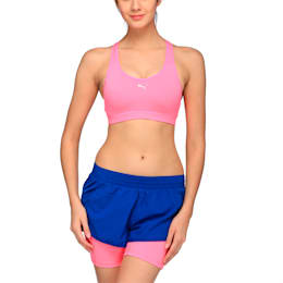 Training Women's PWRSHAPE Cardio Bra, KNOCKOUT PINK, small-IND