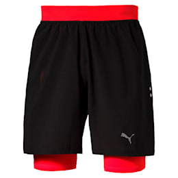 Running Faster Than You Men's 2 in 1 Shorts