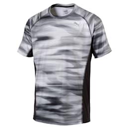 Running Men's Graphic T-Shirt, Puma Black Heather, small-IND