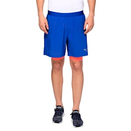 Running Men's Pace 2 in 1 Shorts, TRUE BLUE-Bright Plasma, small-IND