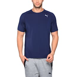 Running Men's PWRCOOL Speed T-Shirt, Peacoat, small-IND