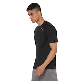 Running Men's T-Shirt, Puma Black, small-IND