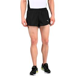 Running Men's Split Shorts, Puma Black, small-IND