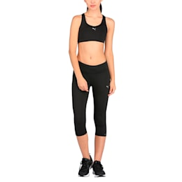 Running Women's 3/4 Tights, Puma Black, small-IND