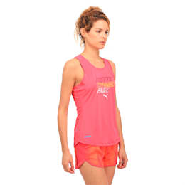 Running Women's PWRCOOL Slogan Tank Top, SPARKLING COSMO, small-IND