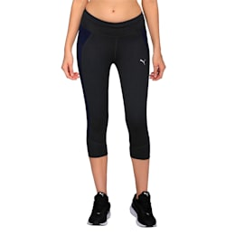 Running Women's PWRCOOL Speed 3/4 Tights, Dark Gray Heather, small-IND