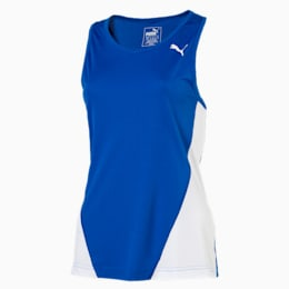 Cross the Line Women's Training Tank Top, Team Power Blue-Puma White, small-IND