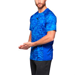 Active Training Men's Vent Graphic T-Shirt, TRUE BLUE, small-IND