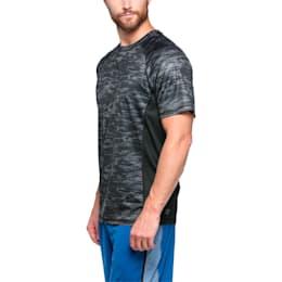 Active Training Men's Vent Graphic T-Shirt, PumaBlk-quietshd-brightplas, small-IND